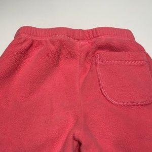 Hanna Andersson Bottoms - Hanna Andersson Girl's Pink Fleece Pants Size 100